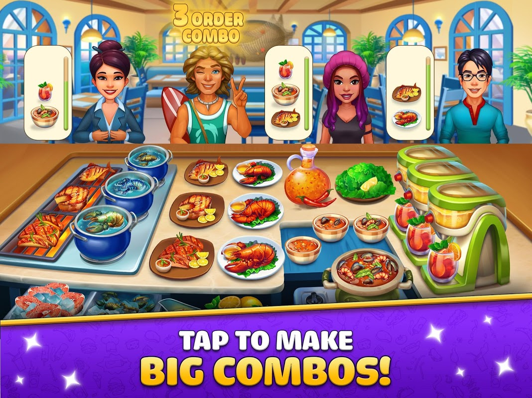 Android Cook It! Chef Restaurant Cooking Game Screen 6