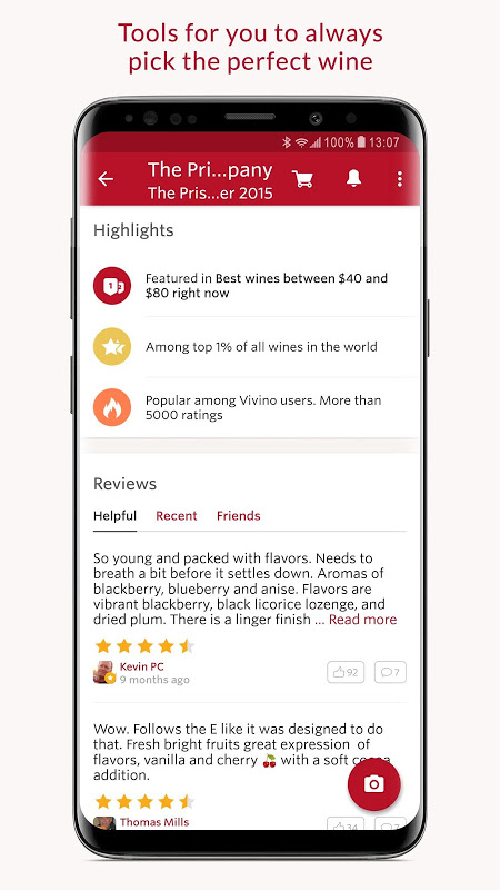 Android Vivino: Buy the Right Wine Screen 5