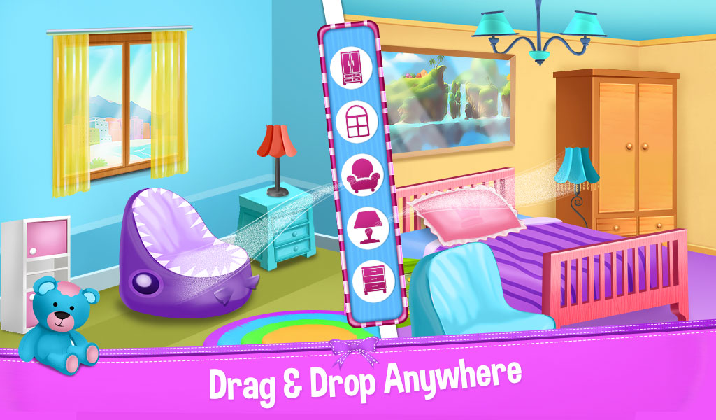 Android Dream Home Mansion Decoration Decorate Your World Screen 4