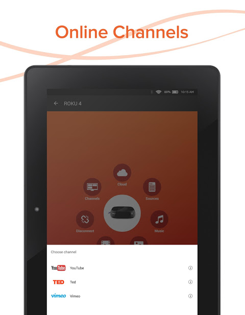 Android AllConnect - Play & Stream Screen 12