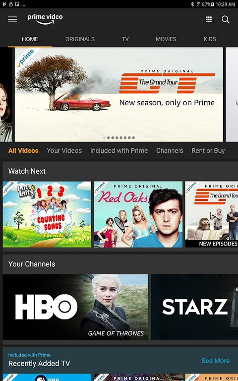 Android Amazon Prime Video Screen 3