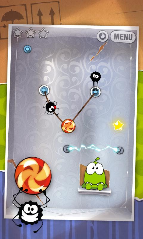 Android Cut the Rope FULL FREE Screen 2
