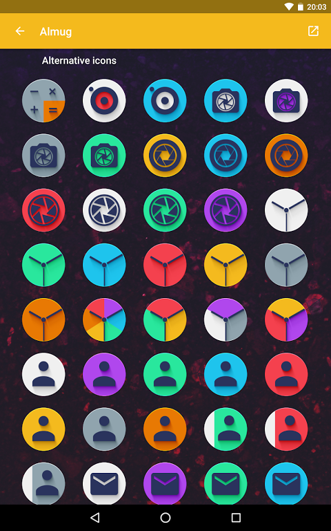 Android Almug - Icon Pack Screen 10