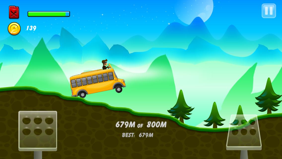 Android Hill Racing: mountain climb Screen 6