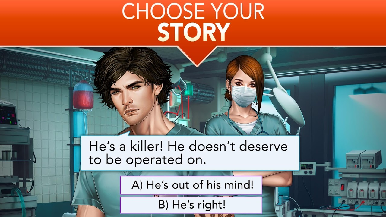 Android Is it Love? Blue Swan Hospital - Choose your story Screen 14