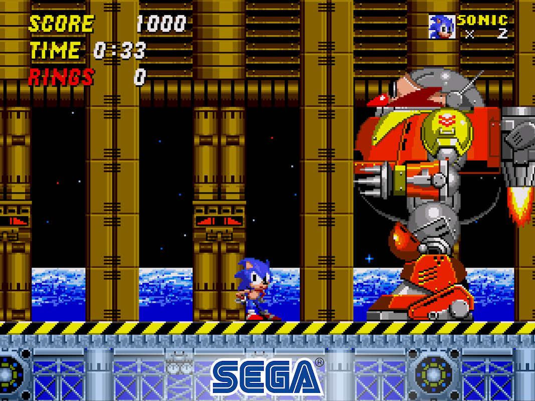 Android Sonic The Hedgehog 2 Classic Screen 2