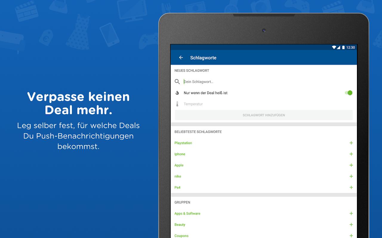 Android mydealz – Gutscheine, Schnäppchen, Angebote, Sale Screen 13