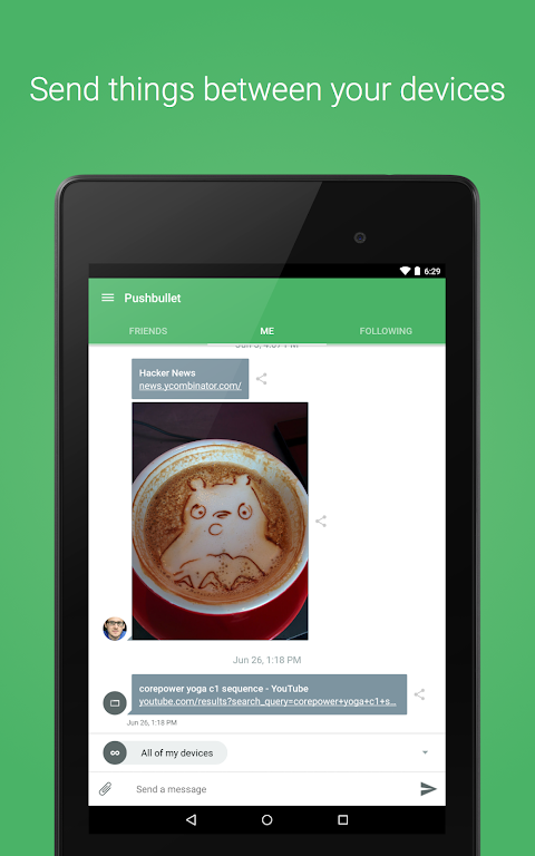 Pushbullet - SMS on PC 17.8.15 Screen 9