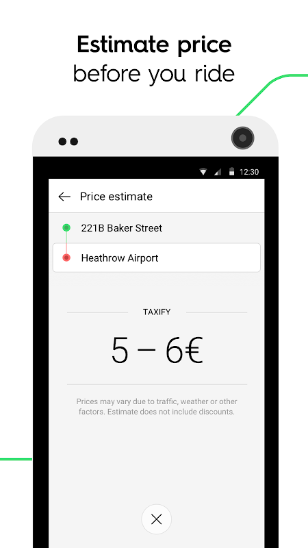 Taxify CA.4.65 Screen 2