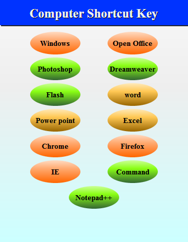 Computer shortcut key 2 2 0 APK Download by Thangadurai R | Android APK