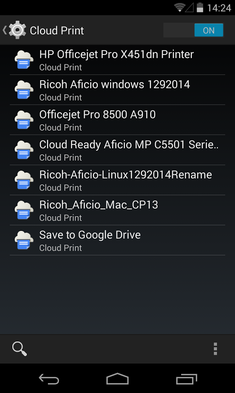 Cloud Print 0.9.8 Screen 11