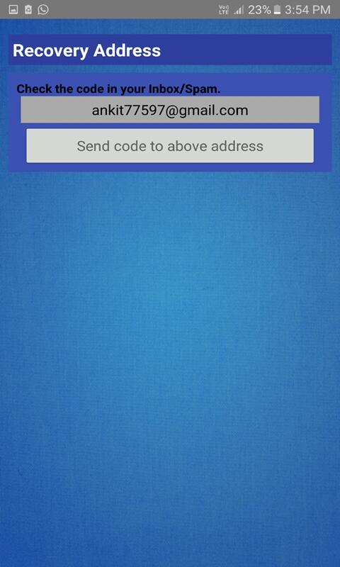Android File & Folder Secure Screen 5