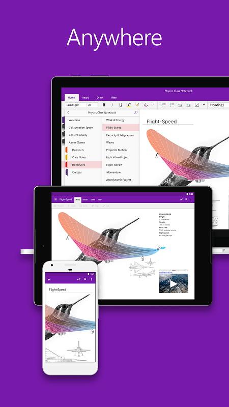 OneNote 16.0.8528.2052 Screen 8