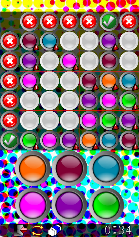 Android Sudoku Frenzy Puzzle Screen 3