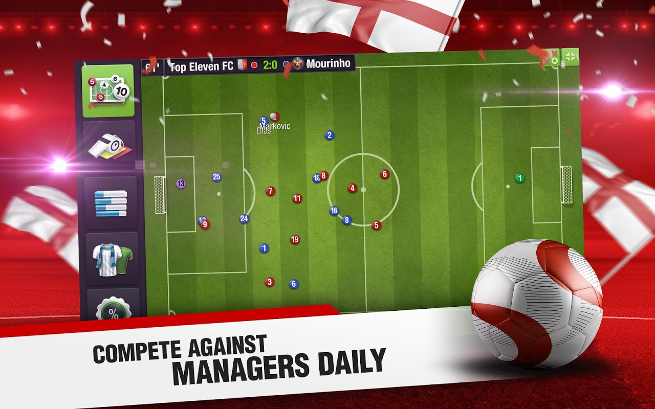 Android Top Eleven 2018 - Be a Football Manager Screen 7