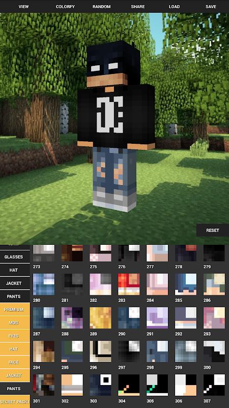 Custom Skin Creator For Minecraft 5.6 Screen 1