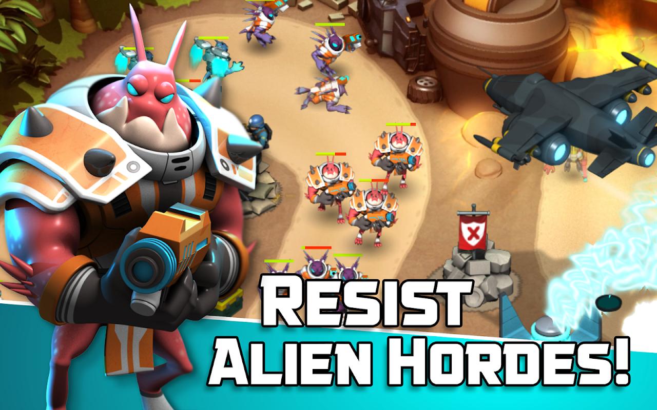 Alien Creeps TD - Epic tower defense 2.27.0 Screen 12