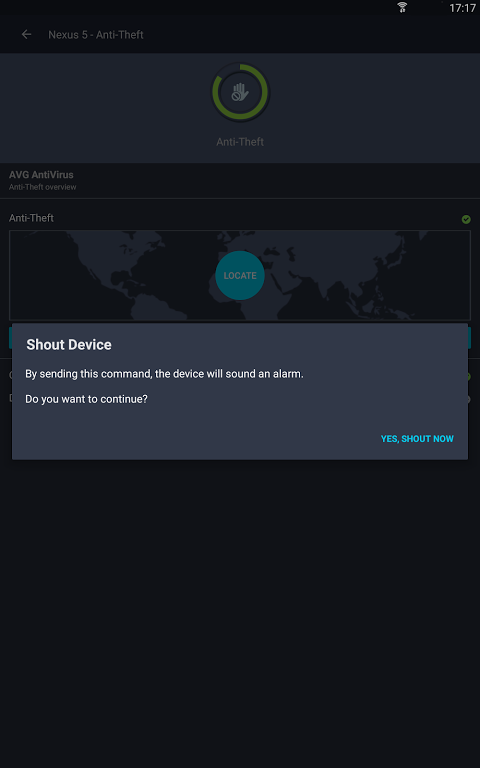 Android AVG?Zen Screen 15