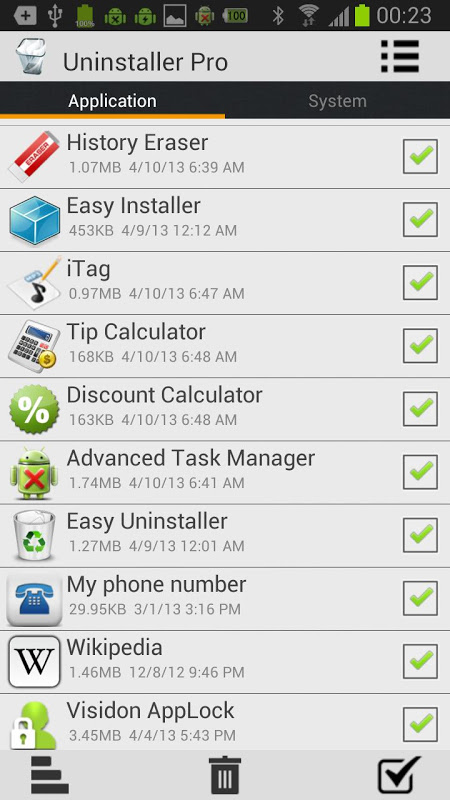 Batch Uninstall Professional 1 07 APK Download by DO EASY