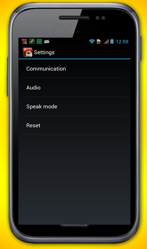 Android WiFi Walkie Talkie Screen 3