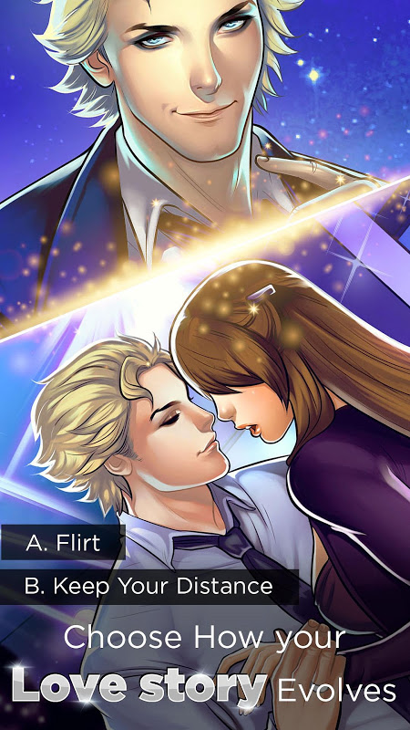 Android Otome: Is-it Love? Gabriel – Interactive Story Screen 4