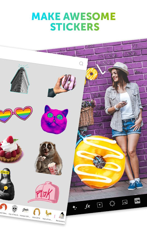 Android PicsArt Photo Studio: Collage Maker & Pic Editor Screen 1