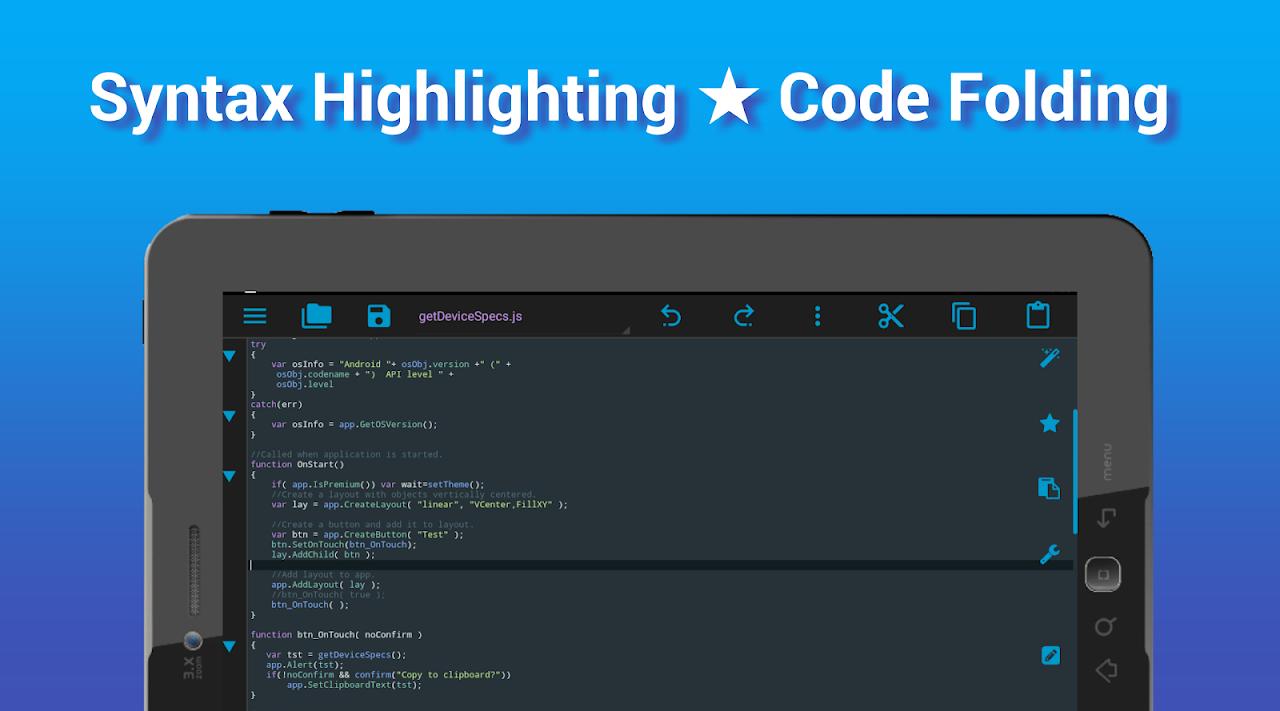 I<code> Go - Code Editor / IDE / Online Compiler 2.05 Screen 12