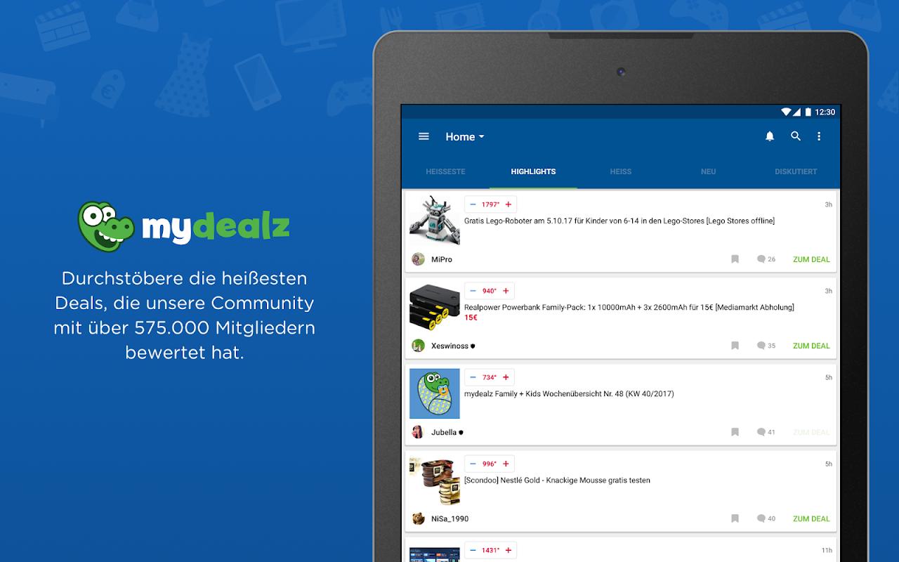 Android mydealz – Gutscheine, Schnäppchen, Angebote, Sale Screen 10