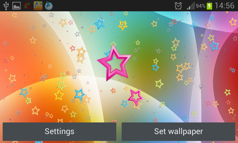 Stars Live Wallpaper 4.0 Screen 1