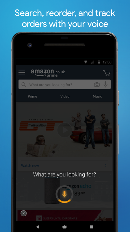 Android Amazon Shopping Screen 1