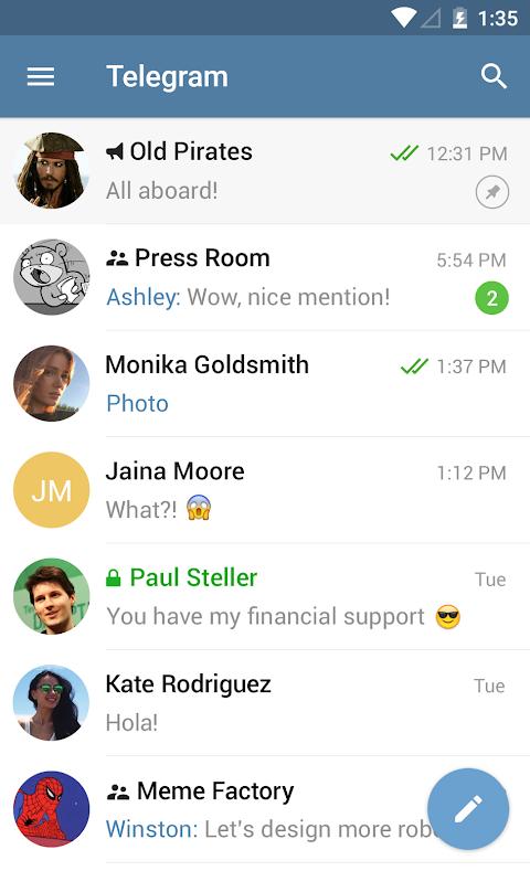 Telegram 4.9.1 Screen 6