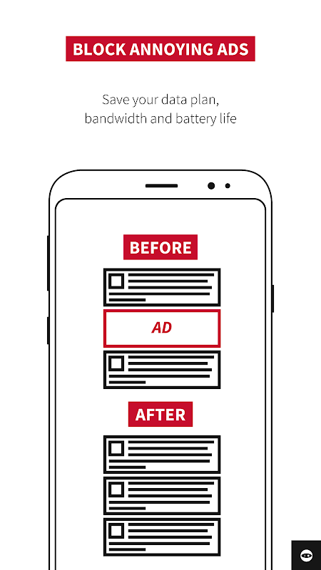 Adblock Plus for Samsung Internet - Browse safe. 1.1.6 Screen 3