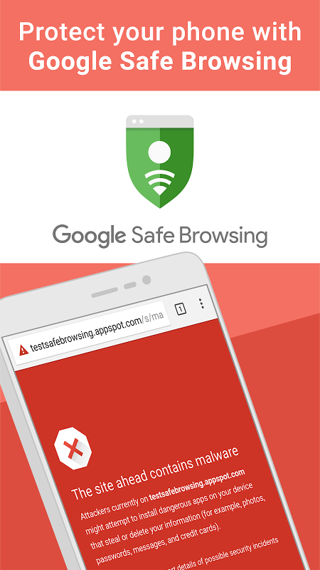Android Chrome Browser – Google Screen 4