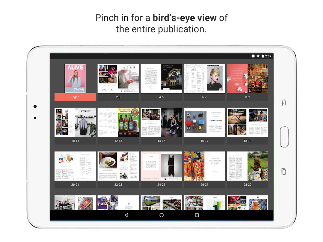 issuu - Read Magazines, Catalogs, Newspapers. 5.18.0 Screen 9