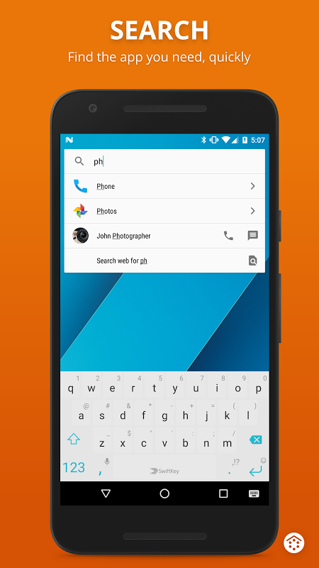 Android Smart Launcher 3 Screen 2