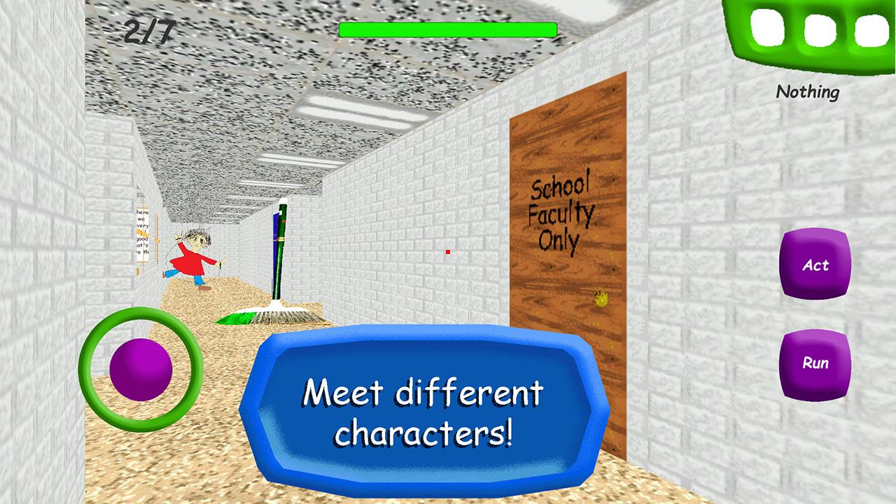 Android Baldi's Basics in Education School Screen 2