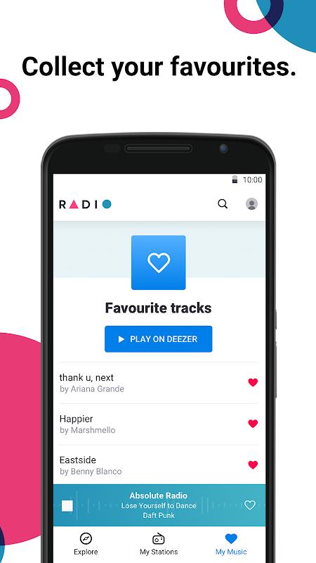 Radio by Deezer: FM Stations & Online Radio Player 1.1.1 Screen 4