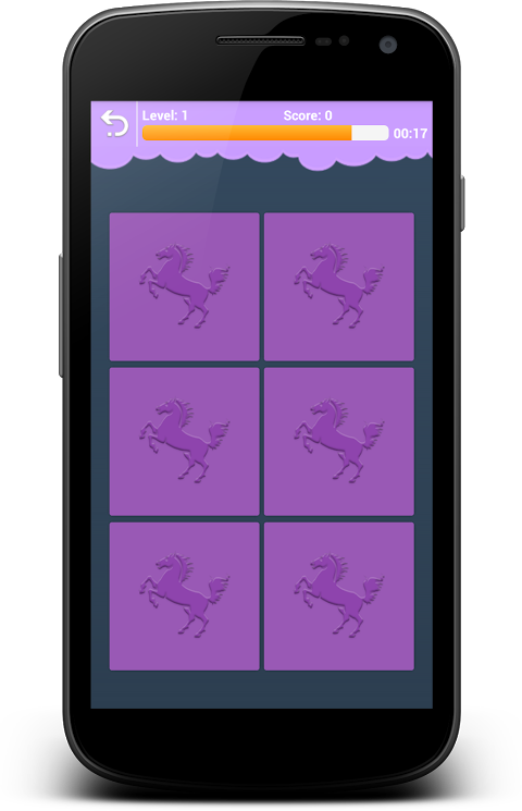 Android Animals Memory - Learn Animals Screen 3