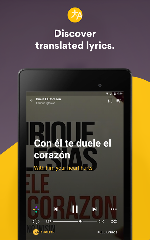 Musixmatch Lyrics 6.7.5 Screen 10