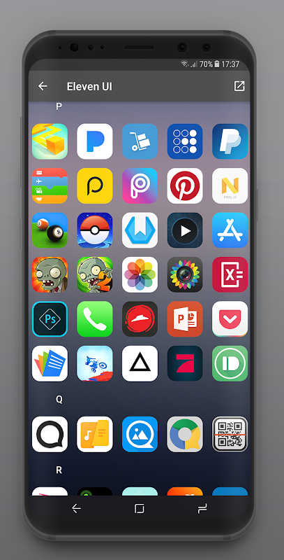 Eleven UI - IOS 12 Icon Pack 1 2 0 APK Download by Marvin van Kessel