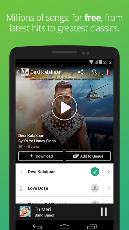 Saavn: Hindi & Bollywood Songs 3 4 1 APK Download by Saavn | Android APK