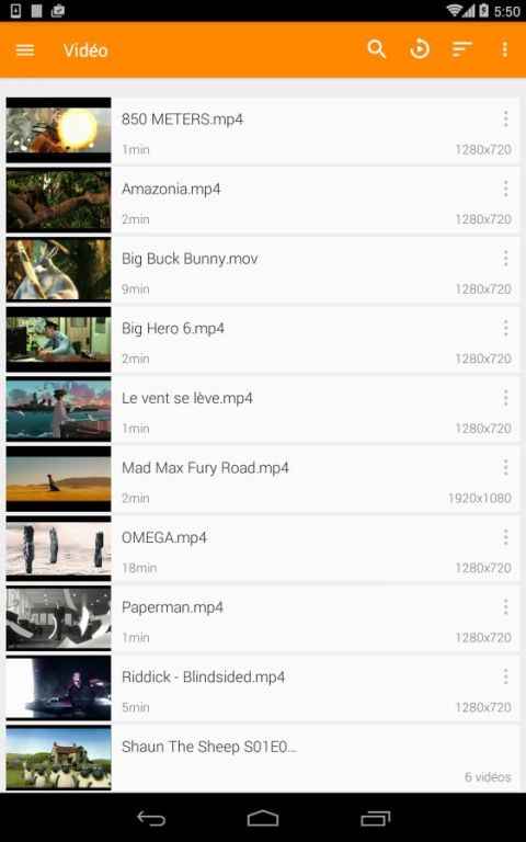 Android VLC for Android Screen 70
