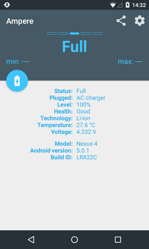 Android Ampere Screen 2
