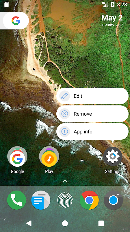 Android N Launcher Pro - Nougat 7.0 Screen 2