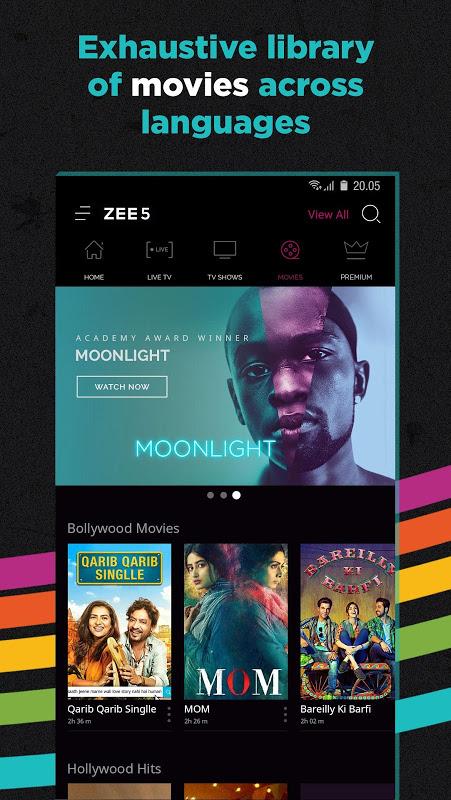 ZEE5 - Movies, TV Shows, LIVE TV & Originals 11.2.134 Screen 4