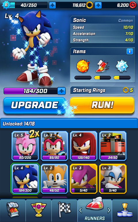 Android Sonic Forces Screen 4