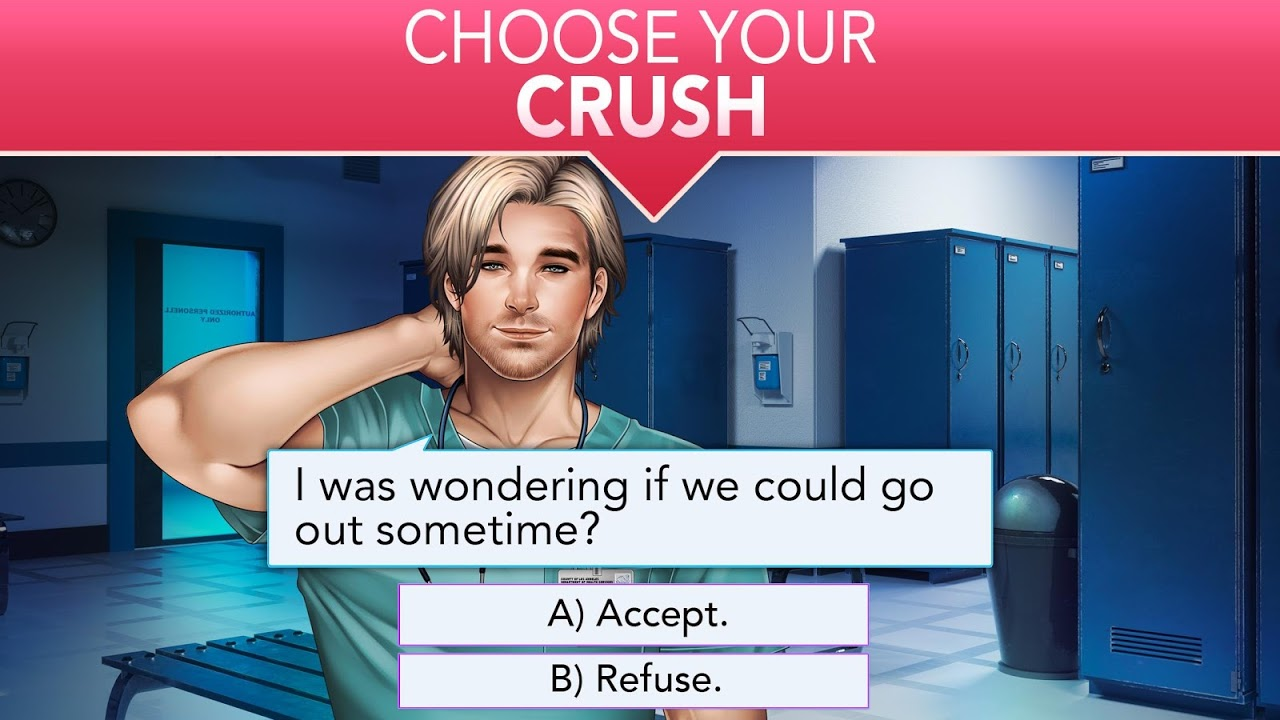 Android Is it Love? Blue Swan Hospital - Choose your story Screen 13