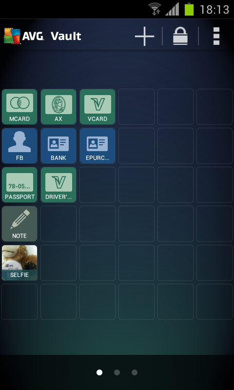 Android AVG Vault Screen 8