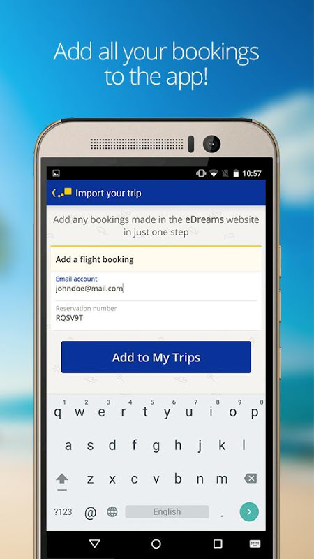 eDreams Cheap Flights & Hotels 4.94.0 Screen 2