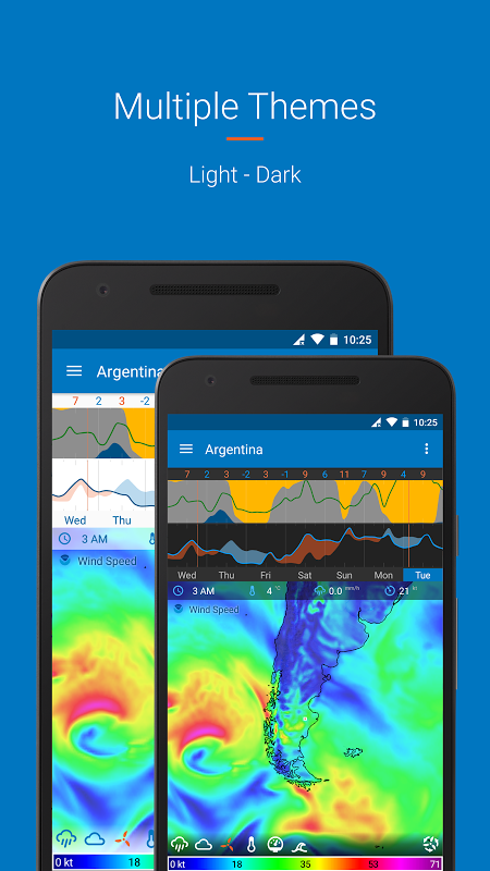 Android Flowx: visual long range weather forecast Screen 3